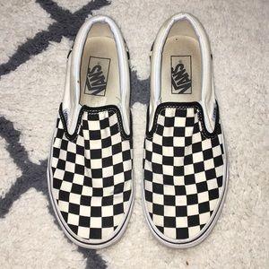 Checkerboard Vans